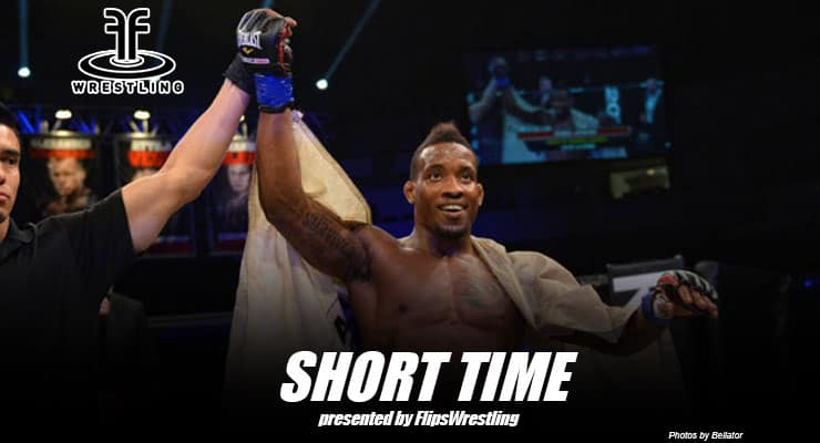 Bellator MMA's Bubba Jenkins talks fighting and looks back on his wrestling career – Short Time Ep. 108