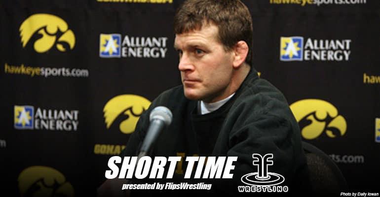 ST140: Iowa head coach Tom Brands looking ahead to Penn State