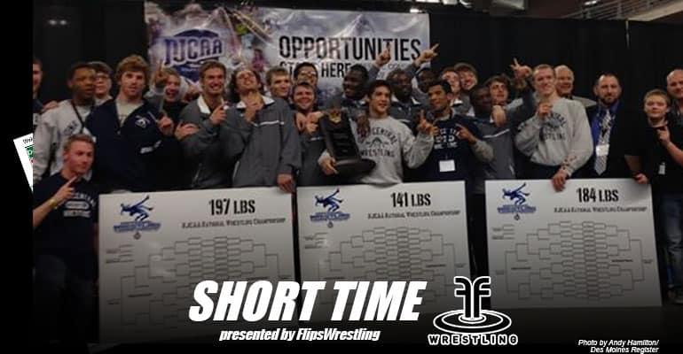 ST147: Iowa Central takes NJCAA title; Coach Luke Moffitt and 197-pounder Pat Downey talk about it