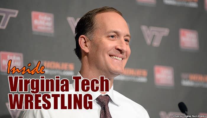 VT16: Director of Athletics Whit Babcock joins Inside Virginia Tech Wrestling