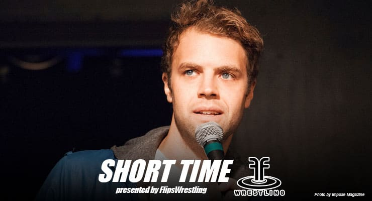ST164: Stand-up comic and Iowa native Brooks Wheelan talks wrestling, Saturday Night Live and his comedy album