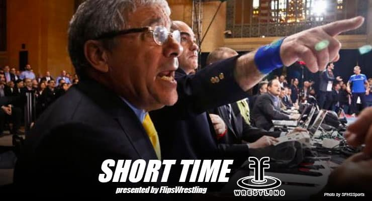 ST163: Wrestling official Rick Tucci breaks down the new Greco-Roman wrestling rules