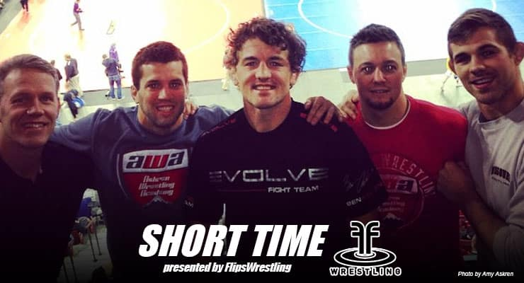 ST176: Olympian and MMA fighter Ben Askren talks the good, the bad and the ugly of marketing wrestling