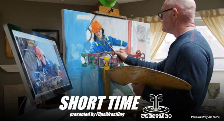 ST171: Minneapolis wrestling coach and artist Joe Burns is Canvassing the Bakken Oil Fields