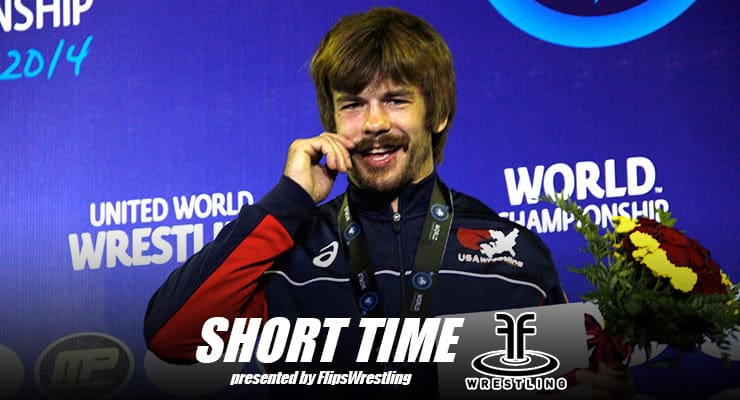 ST183: Greco-Roman World Bronze medalist Andy Bisek and his trademark mustache