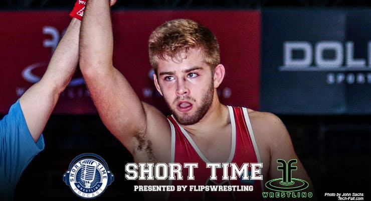 ST187: Junior freestyle Outstanding Wrestler Joe Smith of Oklahoma talks family and his famous father