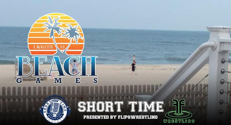 Don Beshada and Cliff Fretwell of Flipswrestling and Compound bring you the Beach Games – ST205