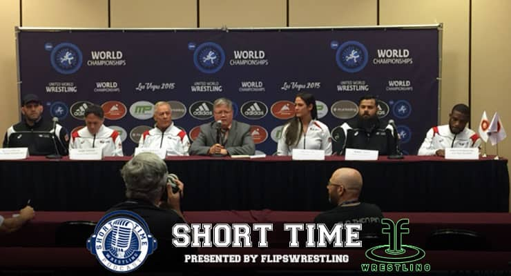 ST202: USA Wrestling Press Conference from the World Wrestling Championships in Las Vegas