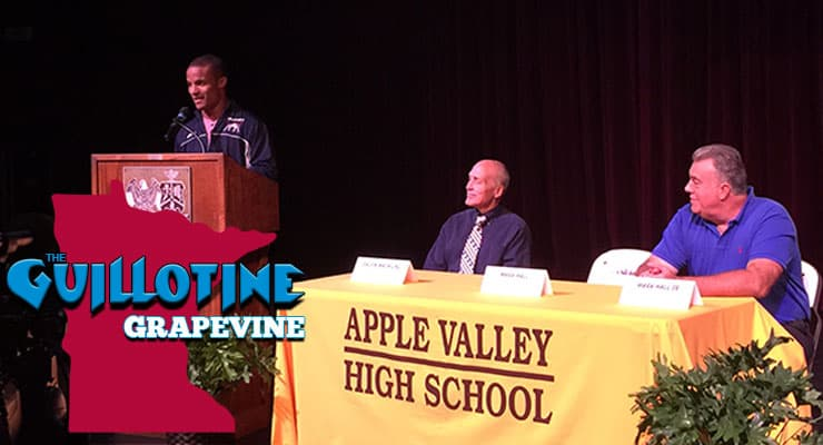 GG04: Apple Valley's Mark Hall announces his intention to compete for Penn State