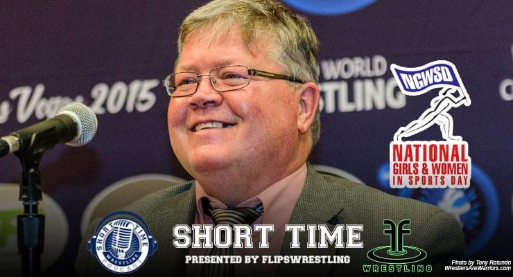 Gary Abbott of USA Wrestling talks women's college wrestling on #NGWSD – ST241