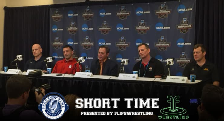 NCAA Division I Wrestling Championship Coaches Press Conference