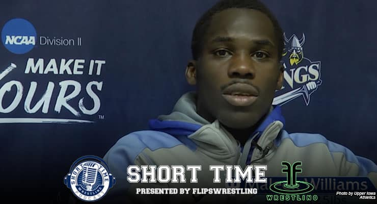 Upper Iowa's Maleek Williams reaches Division II nationals after a stroke and open-heart surgery – in NOVEMBER. ST247