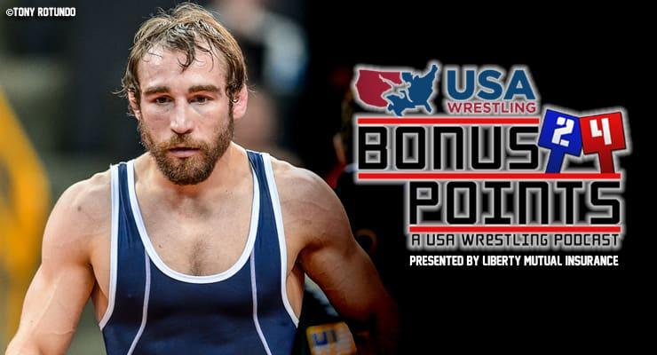 BP38: Daniel Dennis, 2016 U.S. Olympian in men's freestyle wrestling