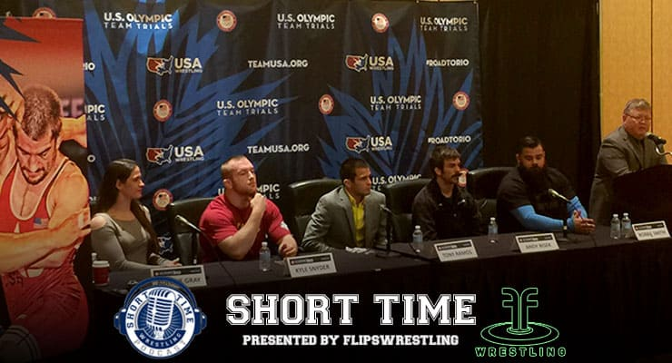 U.S. Olympic Wrestling Team Trials Press Conference – Gray, Snyder, Ramos, Bisek, Smith