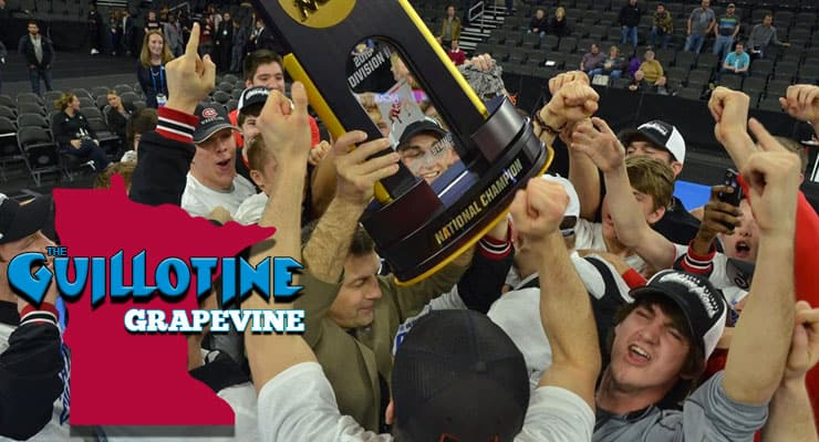 GG13: Steve Costanzo, head coach of the back-to-back National Champion St. Cloud State Huskies