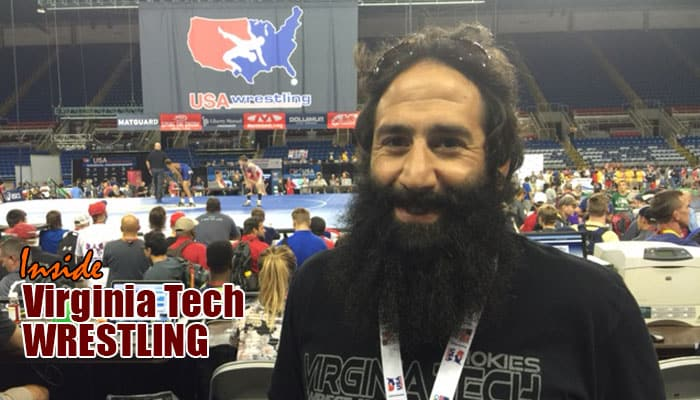 VT33: Full-time assistant coach Mike Zadick hangs out in Fargo