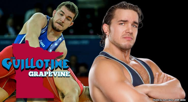 GG18: Ready, Willing and Gable to talk wrestling – Minnesota native Chas Betts on life as the WWE's Chad Gable