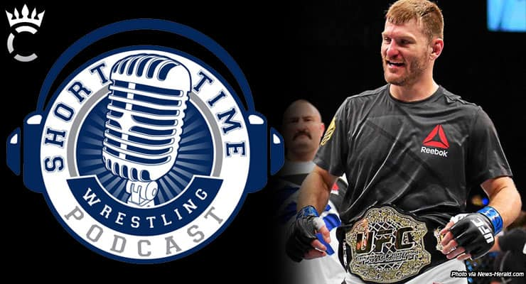 Fighting fires, and heavyweights, with UFC champion Stipe Miocic – ST284