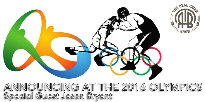 THE REAL BRIAN SHOW: Announcing at the 2016 Olympics with Jason Bryant