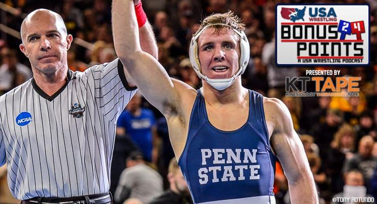 BP61: Zain Retherford, NCAA champion for Penn State