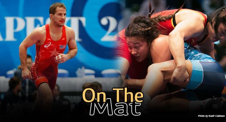 OTM458: World Champion Logan Stieber and World Silver Medalist Alli Ragan