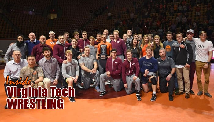 VT3-9: ACC regular-season champion Hokies prepare for National Duals battle with Nebraska