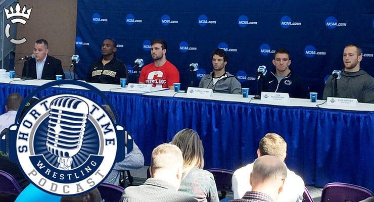 2017 NCAA Division I Wrestling Athlete Press Conference: Cox, Dean, Gilman, Retherford, Snyder – ST317