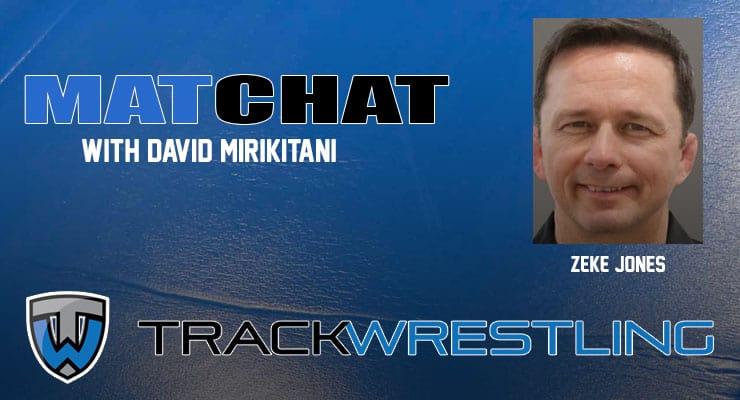 MC35: Arizona State head wrestling coach ZekeJones joins Mat Chat