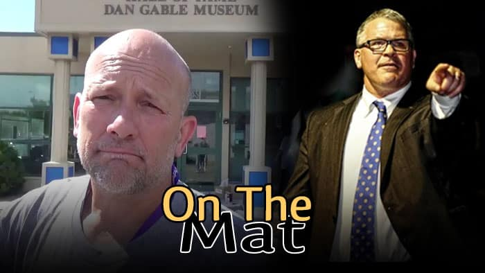 OTM507: Shane Sparks of Trackwrestling, Duane Watson of Allendale, Mich., and Lonnie Morris of Johnson & Wales