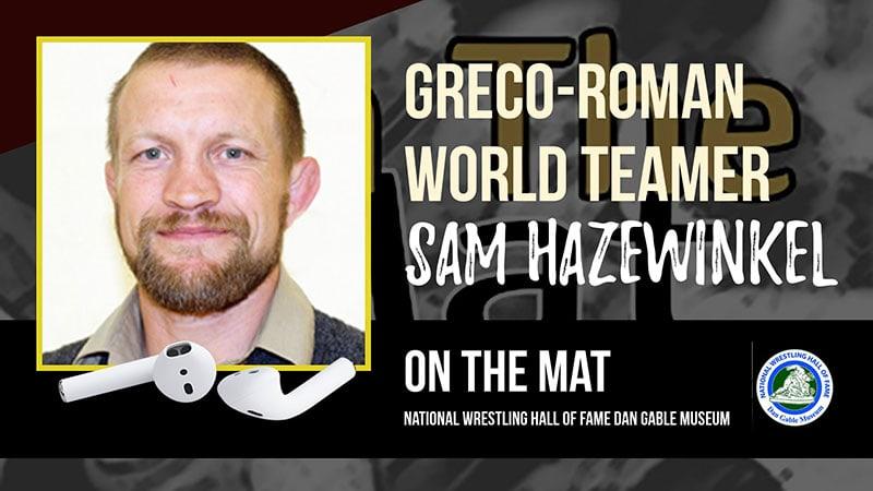 Greco Roman World Teamer And Past Olympian Sam Hazewinkel Otm539