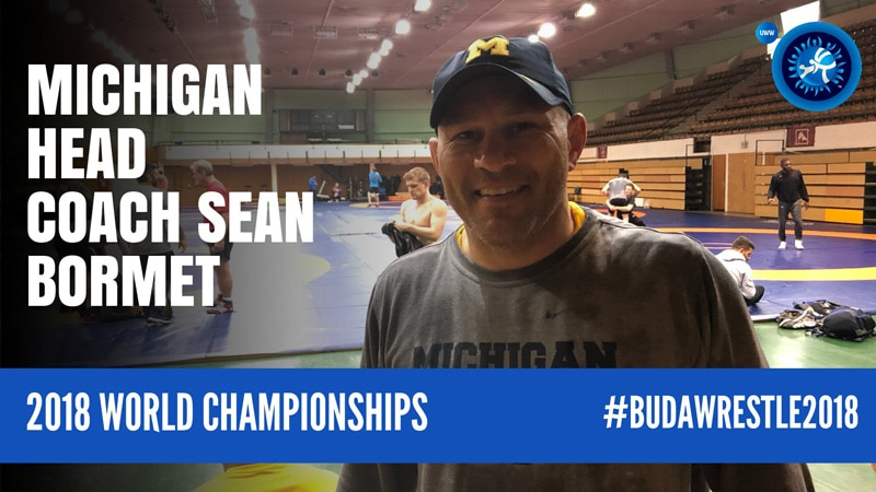 Michigan head coach and international wrestling diplomat Sean Bormet