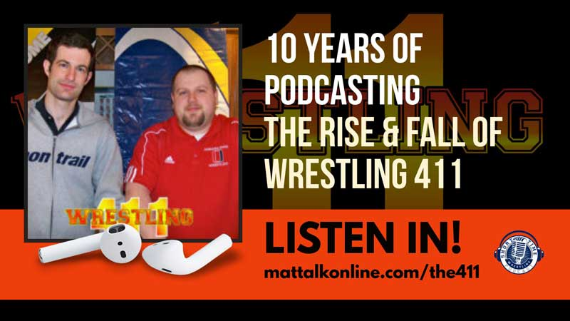 Ten years of podcasting with the rise and fall of Wrestling 411 (with Kyle Klingman)