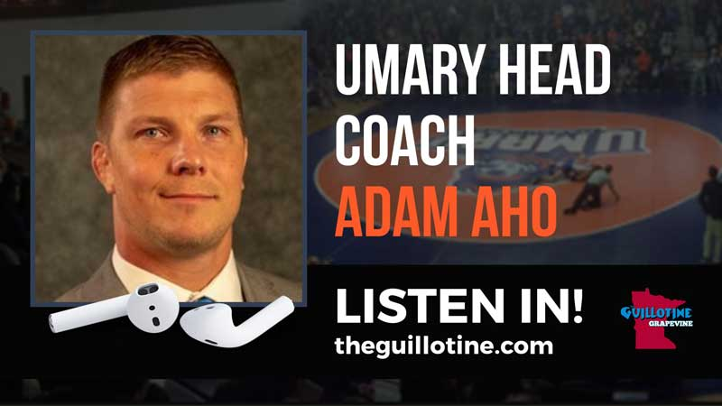 UMary head wrestling coach Adam Aho is burning the boats and building a program in Bismarck – GG49