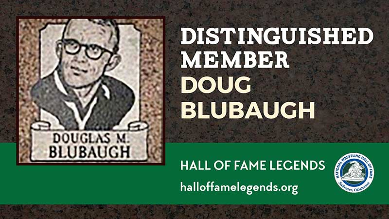 1979 Distinguished Member Doug Blubaugh, Olympic Champion