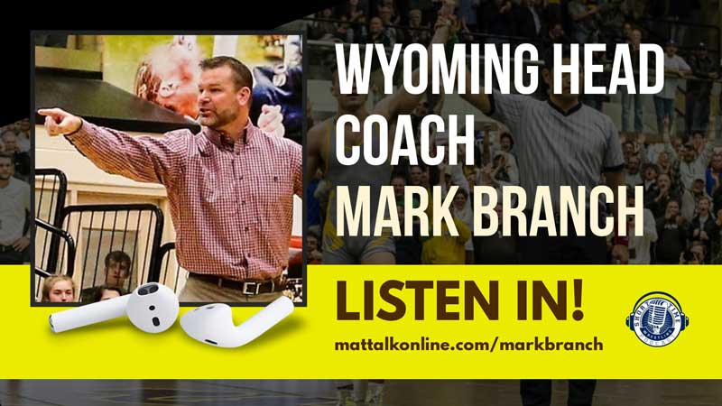 Wyoming head coach Mark Branch on his place in wrestling history and the culture in Laramie – ST474