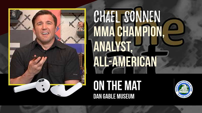 MMA Champion, Analyst and wrestling All-American Chael Sonnen – OTM549