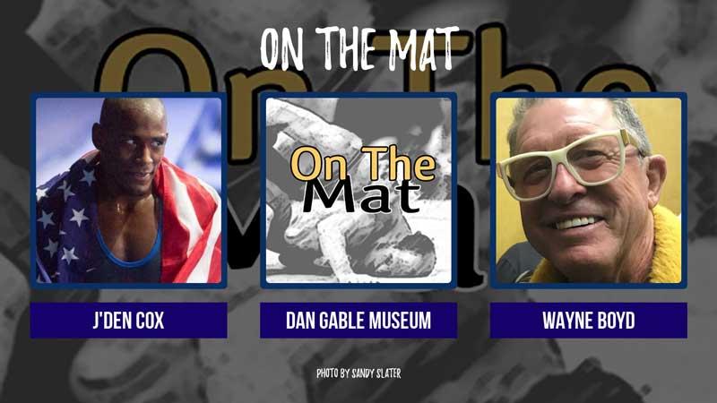 World Champion J'den Cox and AWL's Wayne Boyd – OTM547