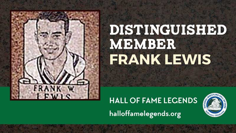 1979 Distinguished Member Frank Lewis, Olympic Champion