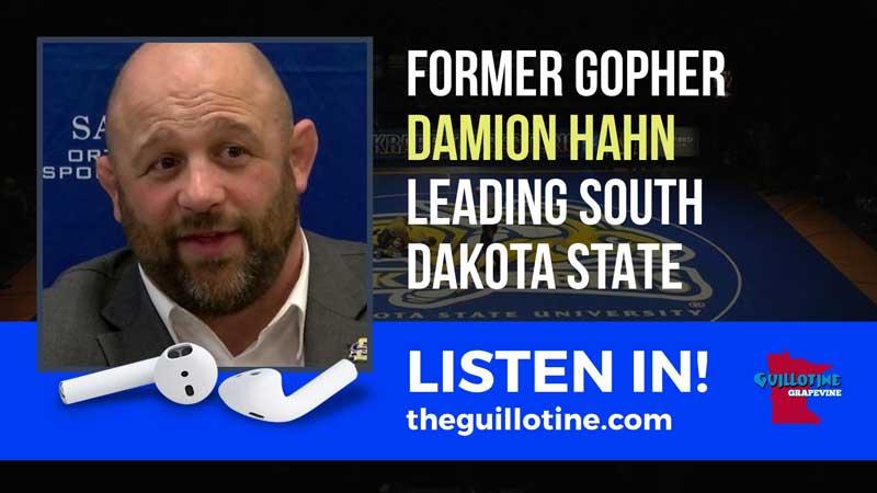 Former Gopher Damion Hahn now leading South Dakota State – GG51