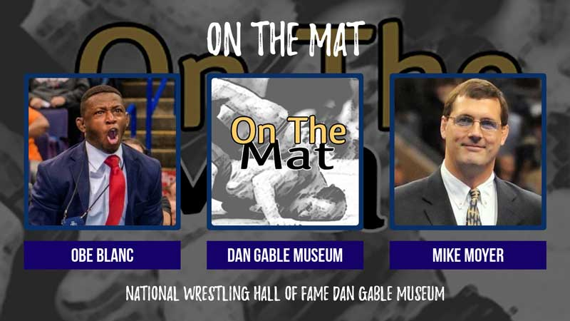 NWCA Executive Director Mike Moyer and NC State assistant Obe Blanc – OTM548