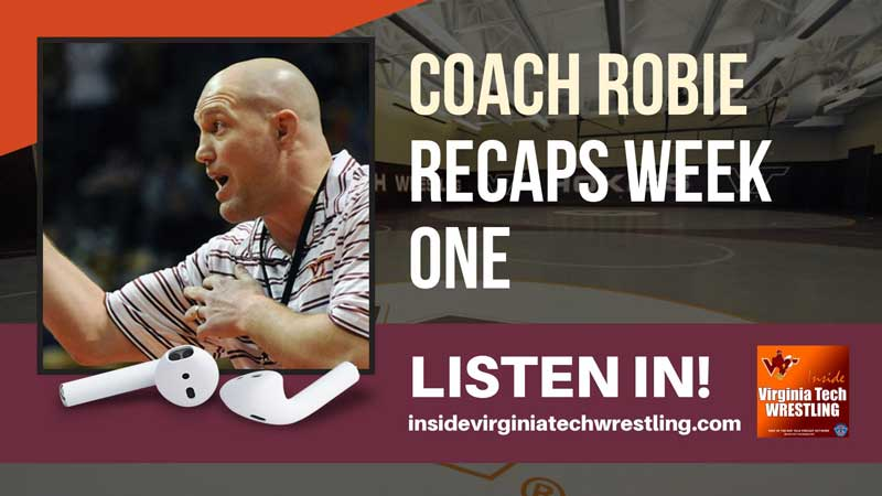 Opening weekend reaction with head coach Tony Robie – VT73