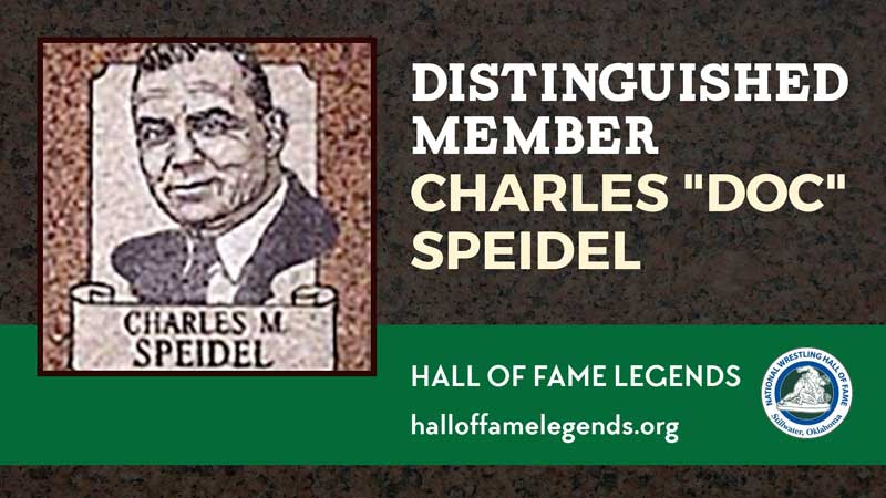 "1979 Distinguished Member Charles ""Doc"" Speidel"