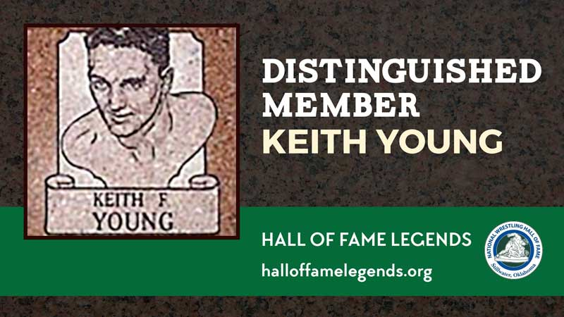 1979 Distinguished Member Keith Young, three-time NCAA champion