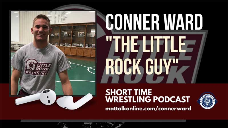 Conner Ward, Little Rock's team of one, is in the nation's most unique wrestling situation