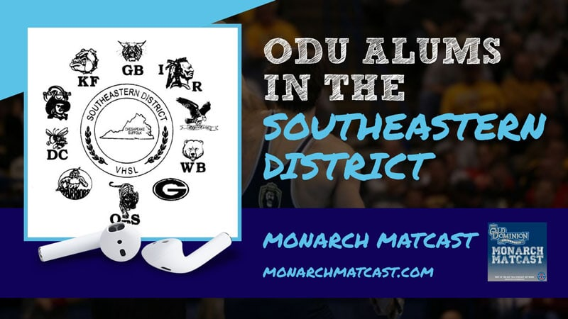 Jesse Pearce, Matt Small and Donald Motley among numerous alumni coaching in the Southeastern District – ODU58