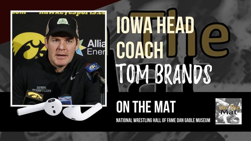 Iowa head coach Tom Brands – OTM556