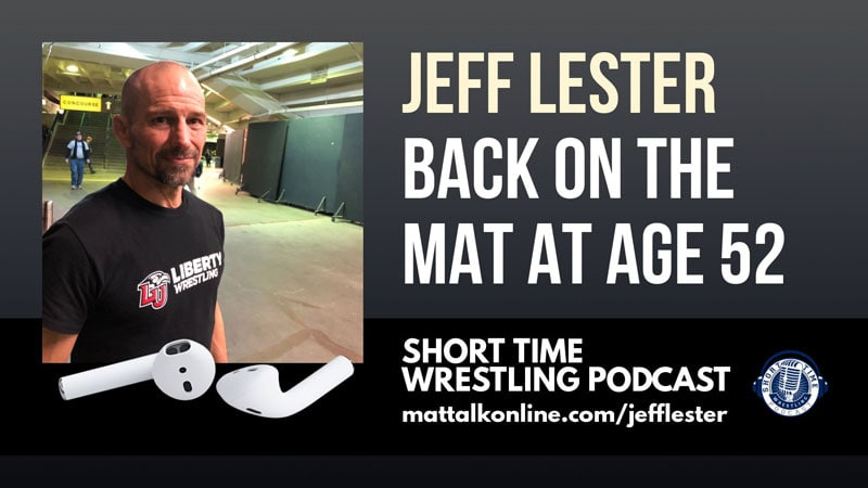 At 52, Liberty wrestler Jeff Lester still feels like he has work to do
