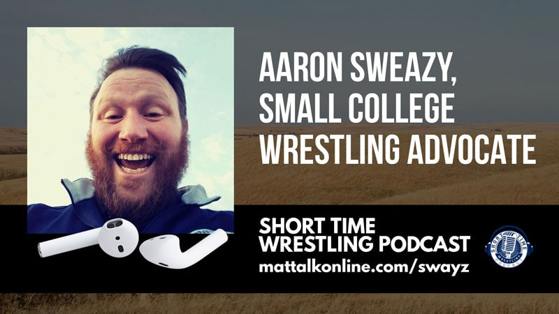 Aaron Sweazy, small college wrestling advocate and forum legend