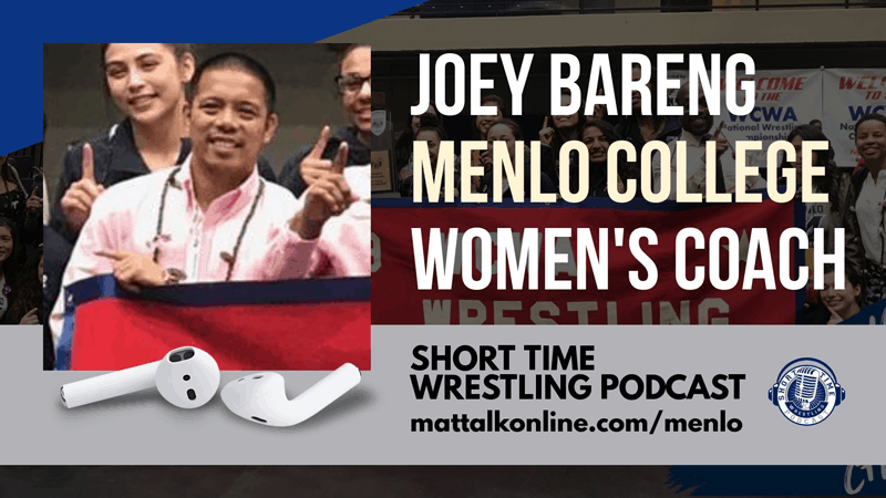 Menlo women's coach Joey Bareng and the path to a national title