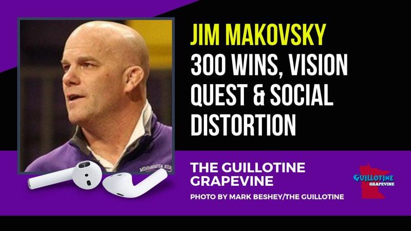 Minnesota State head coach Jim Makovsky – GG54